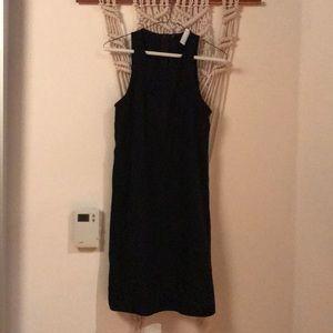 Everlane GoWeave high neck halter dress